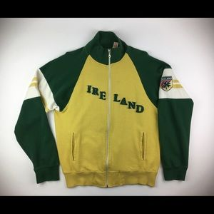 POINT ZERO VTG Ireland Jacket Zip-Front XL Men's